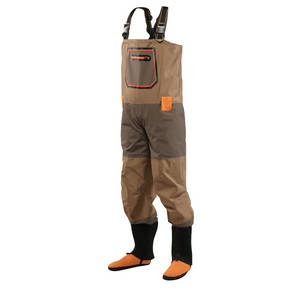 Wholesale stock fabric: 4 Layer Fabric Best Breathable Waterproof Chest Stocking Foot Waders