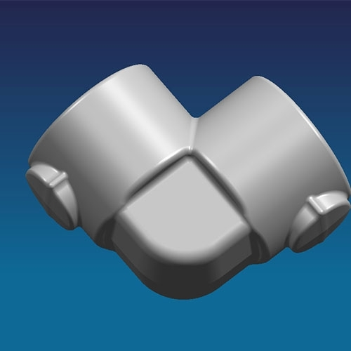 Sell elbow roughcast forged