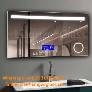 Wholesale wall mirror: Cosmetic Mirror Illuminated Wall Decorative Waterproof Bathroom Mirror with LED Light