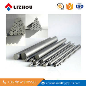 Wholesale d6: Zhuzhou Factory 330mm D6 D8 D10 D12 Unground Tungsten Cemented Carbide Rods for Cutting Tools