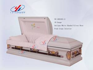 Wholesale Funeral Supplies: Metal Coffin