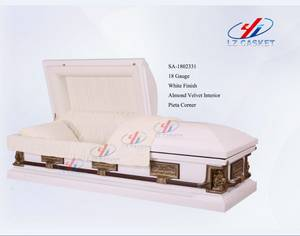 Wholesale Funeral Supplies: Metal Casket