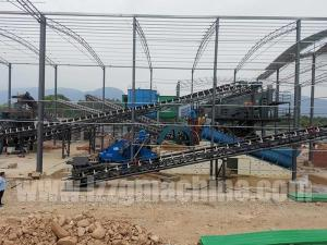 Wholesale hydraulic rotating: Iron Ore Washing Machine Processing Flow 200tph