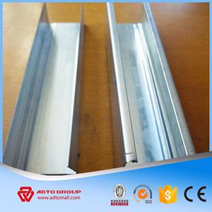 Wholesale Metal Building Materials: Interior Wall Material Metal Track Steel Purlin with Best Price