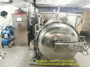 Wholesale canned food: Sterilization Retort Machine for Canned Food/Vegetable/Meat/Fish/Beverage
