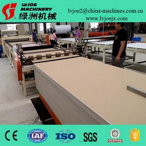 Wholesale Tile Making Machinery: Gypsum PVC Facing Ceiling Tiles Lamination Machine/Making Machine