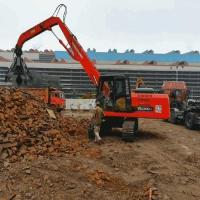 Sell China Hydraulic Grapple Excavator Scrap Grab Scrap Steel...