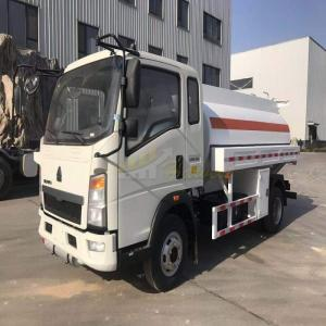 Wholesale howo: Sinotruk 5000 Liters Fuel Tank Truck From Howo Factory