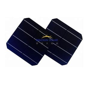 Wholesale solar cell panel: Solar Cell Panel 21.6 High Efficiency A-grade 156mm 5BB Monocrystalline Solar Cell 5.37W 6x6