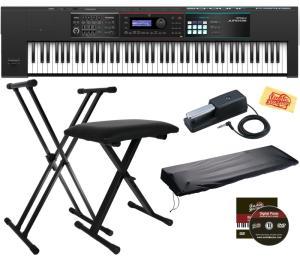 Wholesale stage: Yamahas PSR-SX900 Arranger Workstation Keyboard STAGE ESSENTIALS BUNDLE