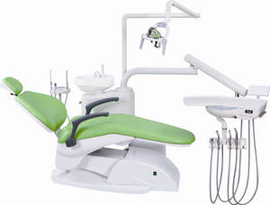 Wholesale dental camera covers: Apple Green High Quality Chinese Dental Chair Unit Dental Equipment Price