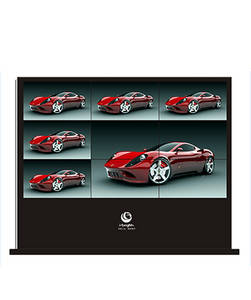 Wholesale pc: Android/PC 47 Outdoor Large LCD Display Digital Signage with Splicing Screen 3*3