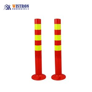 Wholesale packing pvc film: ReflectivePVC Road Delineator Post