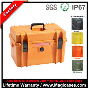 Wholesale equipment case: China Factory Direct Sale Waterproof Shockproof Photography Equipment Case, Plastic Equipment Case