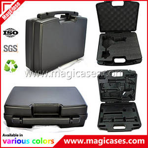 Wholesale carry cases: PP Plastic Tool Box Carrying Case with OEM Foam and Printing