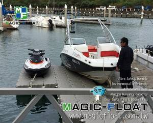 Wholesale floating dock: Float Dock for Jet Ski & Speedboat