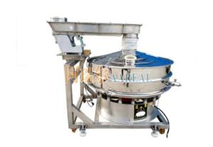 Wholesale vibratory sieve: Round Separator Rotary PVC Powder Vibrating Screen for Food
