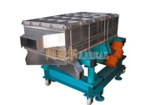 Wholesale Mining Machinery: Rectangular Separator Silica Sand Linear Vibrating Screen for Sand, Starch, Wood Pellet