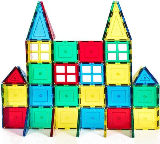 Sell Block Set Magnetic Building Tiles Clear Color Tiles