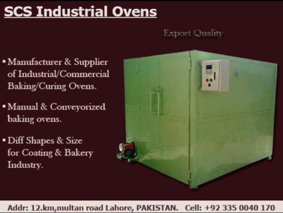 Sell  Industrial Ovens