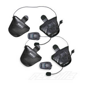 Wholesale motorcycle: Sena SPH10H-FM Bluetooth Intercom with FM Tuner for Half Helmets - Dual Pack