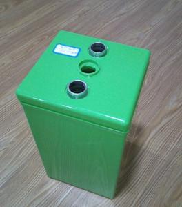 Wholesale emergency flashlight: ABS Materials Green Color High Temper 2V BOXES Storage Battery Containers