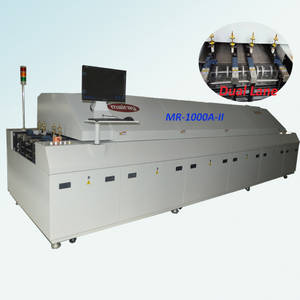 Wholesale reflow oven: MR-1000A 10 Zone Hot Air SMT Reflow Oven