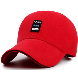 Wholesale fashion cap: Fashion High Quality Cotton 6panels Hat Baseball Cap with Logo Print Woven
