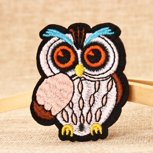 Owl Embroidered Patches