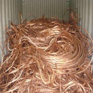 Wholesale metal scraps: High Purity 99.99% Bright Copper Wire Scrap and Copper Millberry Scraps for Reproduce Metal