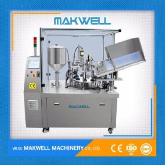 Sell tube filling and sealing machine