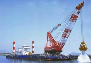 Wholesale grab dredger: Malaysia Grab Dredger Clamshell Dredger Singapore Grab Floating Crane Barge for Sale Rent Charter