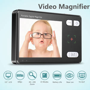 Wholesale 15 inch lcd tv: Handheld Portable Electronic Digital Video Magnifier Low Vision Aid