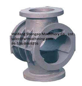 Wholesale iron sand: Ductile Iron Foundry Casting Valve Body Sand Castings