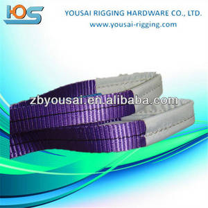Wholesale nylon rope: Wire Rope Sling Heavy Duty Pipe and Nylon Lifting Slings 100% High Tenacity Polyester