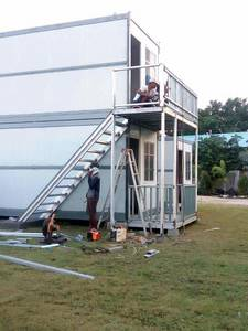Wholesale labor camp: Hot Sale Folding Container House in Myanmar Projects