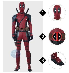Wholesale cosplay: Deadpool 2 Cosplay Costume Outfits Manluyunxiao