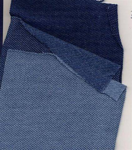 Indigo Dyed Knitted Pique Fabric Id 4814994 Product