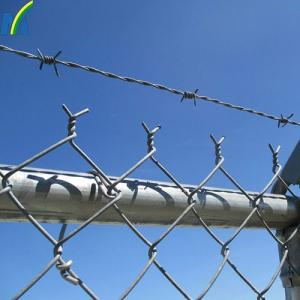 Wholesale galvanize: Factory Wholesale High Quality Galvanized Chain Link Fence