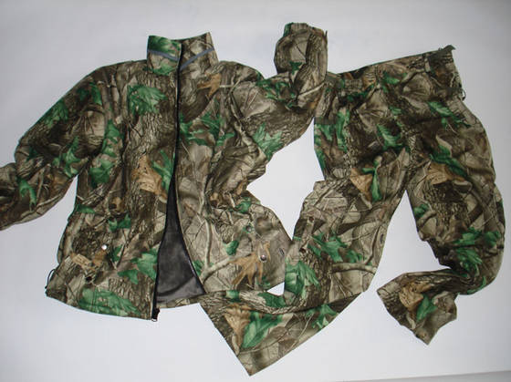 hang tag: Sell Hunting Set for Jacket and Pant