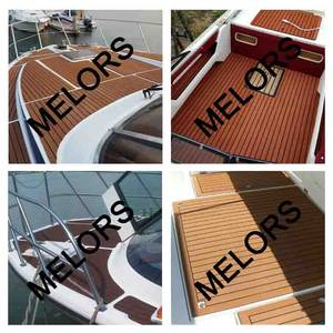 Wholesale EVA: Melors EVA Material High Quality Faux Teak Decking Sheet for Boat Traction