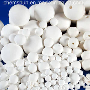 Wholesale ceramic media: Manufacturer Chemical Ceramic Inert Ball As Catalyst Carrier Media