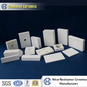 Wholesale alumina ceramic: Weldable Alumina Ceramic Tile From China Manufacturer