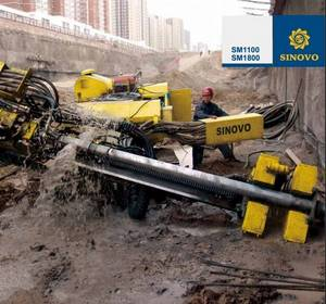 Wholesale drill drifters: SM1100&SM1800 Full Hydraulic Crawler