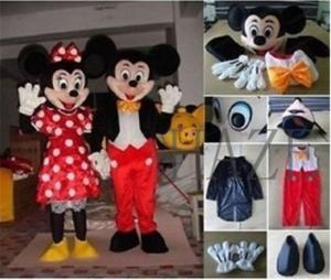 Wholesale dresses: Mickey and Minnie Mouse Adult Mascot Costume Party Clothing Fancy Dress Mascot/Whatsapp +12523948031