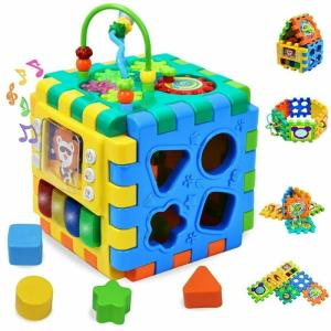 Wholesale baby toy: Smart Toys Activity Cube for Toddler & Babies Early Development Toy for Kids