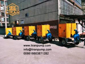 Wholesale centrifugal: Mobile Centrifugal Diesel Engine Driven Pump