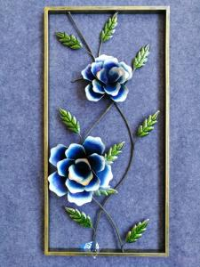 Wholesale crafts: Iron Crafts Picture Wall Decor in Modern Style Handmade Metal Crafts