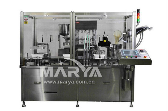 Automatic Filling and Plugging Machine for Pre-sterilized Syringes
