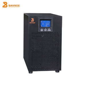 Wholesale lcd display: Newest Industrial LCD Display High Frequency HS Single Phase 10 Kva UPS Price